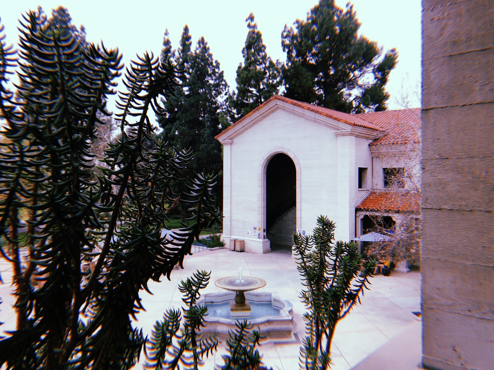 A view of the Student Campus Center at Pomona College. Photograph courtesy of Ananya Saluja